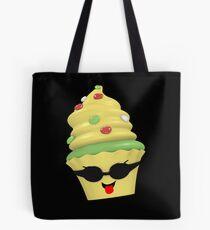 cooles Cupcake Emoticon Tasche