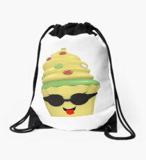 cooles Cupcake Emoticon Rucksackbeutel
