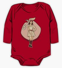 Queen of Diamonds One Piece - Long Sleeve