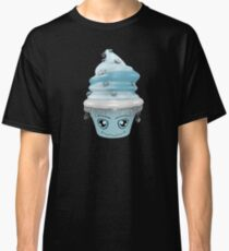 frierendes Cupcake Emoticon Classic T-Shirt