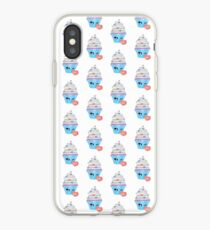 zwinkerndes Cupcake Emoticon iPhone-Hülle & Cover