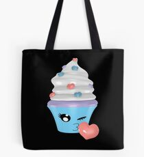 zwinkerndes Cupcake Emoticon Tasche