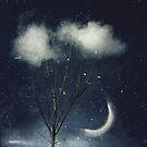 tree in clouds by Dirk Wuestenhagen