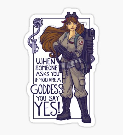 I Ain't Afraid of No Girls Sticker