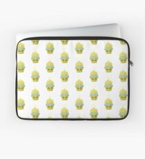 Cupcake Emoticon mit Geistesblitz Laptoptasche