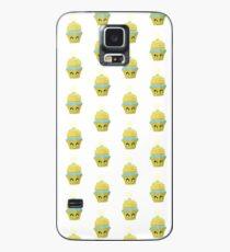 Cupcake Emoticon mit Geistesblitz Hülle & Klebefolie für Samsung Galaxy