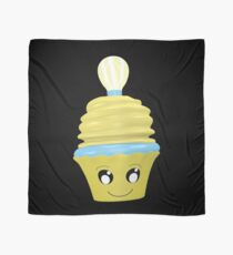 Cupcake Emoticon mit Geistesblitz Tuch
