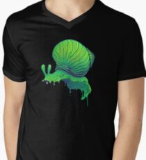 A Snail Men's V-Neck T-Shirt