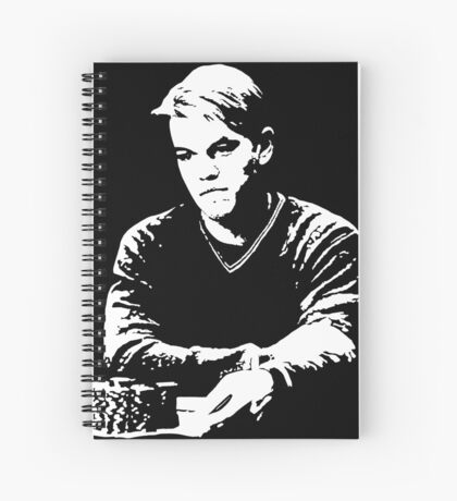 Mike McDermott - Rounders Spiral Notebook