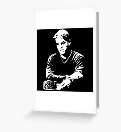 Mike McDermott - Rounders Greeting Card