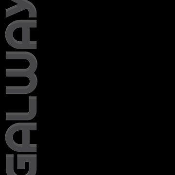 Galway Vertical Text by designkitsch