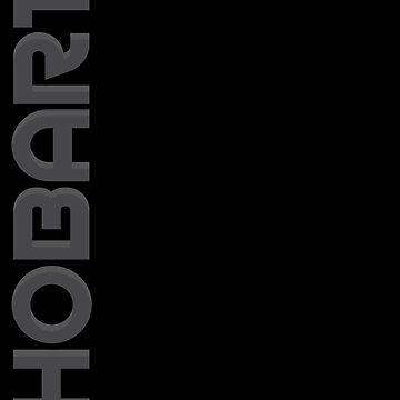 Hobart Vertical Text by designkitsch