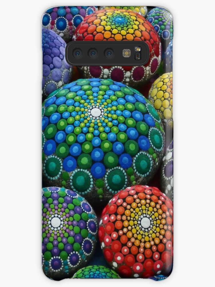 Juwel Drop Mandala Stone Collection # 1 von Elspeth McLean