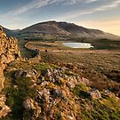 First Light Above Tewet by Phil Buckle