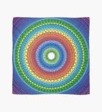 Happy Rainbow Mandala Scarf