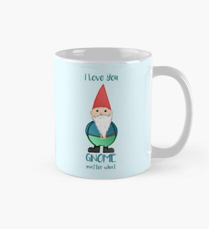 Gnome - I love you GNOME matter what Mug