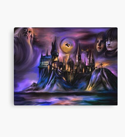 The Magic castle  I Canvas Print