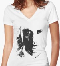 The Consulting Criminal Women's Fitted V-Neck T-Shirt