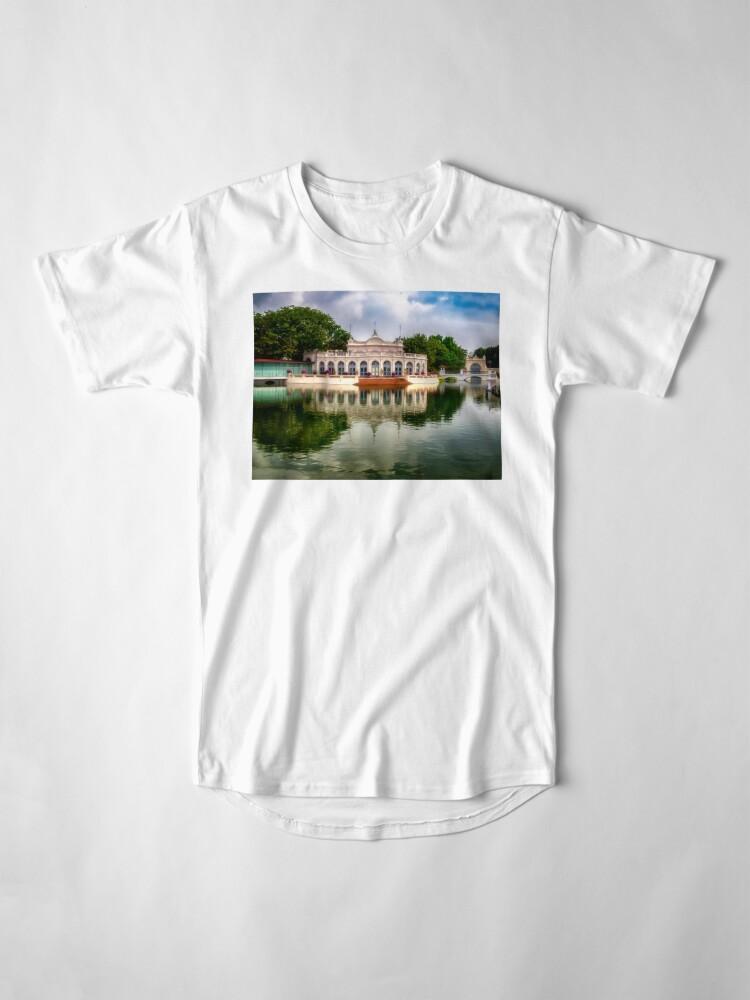 Alternative Ansicht von Thailand-Sommerpalast Longshirt