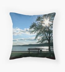 A Lazy Afternoon Throw Pillow