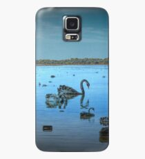 Black Swans at Lake Joondalup, Western Australia Case/Skin for Samsung Galaxy
