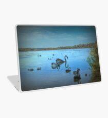 Black Swans at Lake Joondalup, Western Australia Laptop Skin
