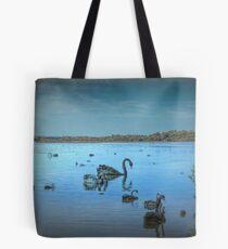 Black Swans at Lake Joondalup, Western Australia Tote Bag