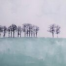Trees on the horizon by ColorsHappiness
