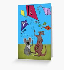 K is for... Greeting Card