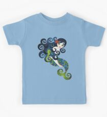 Aquamarine, the Teenage Mermaid Kids Tee