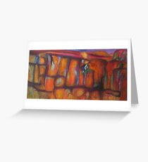 Fissures Greeting Card