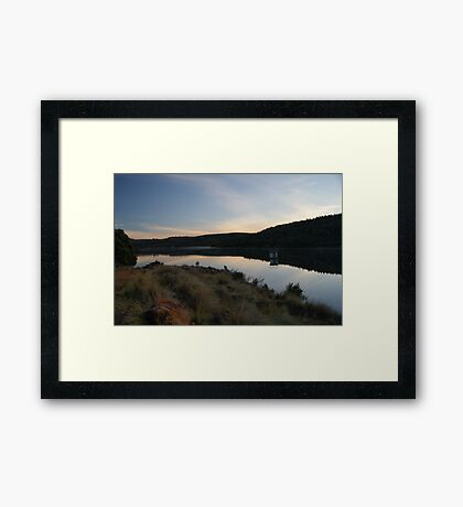Mid Afternoon Reflections Framed Print