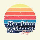 Hawkins Summer Camp von Dan Elijah Fajardo
