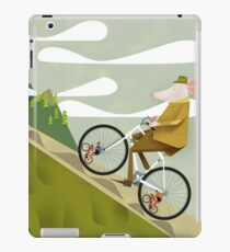 Hamster Cyclist Road Bike Poster iPad Case/Skin