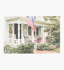 Small Town Americana Photographic Print