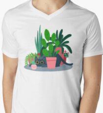 House panther V-Neck T-Shirt