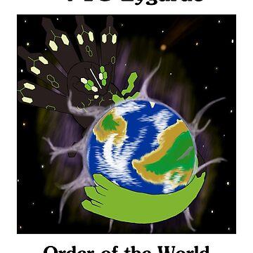 Zygarde - Order of the World by PokemasterShay