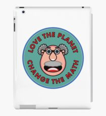 Love the Planet - Change the Math iPad Case/Skin
