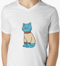 Gumball Watterson - The Amazing World of Gumball V-Neck T-Shirt