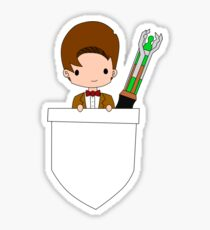 Pocket Who! (Eleventh Doctor) Sticker