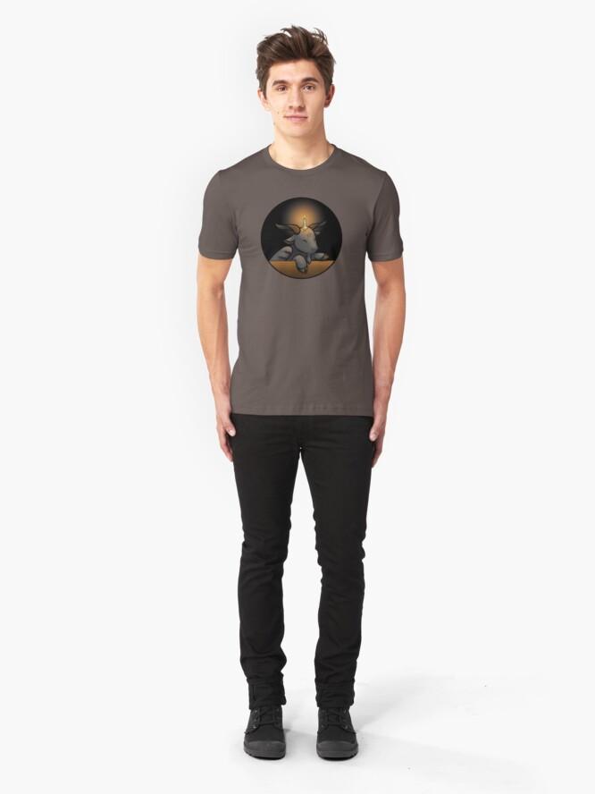 Alternate view of Baphomet Slim Fit T-Shirt