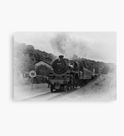 Pickering Crossing Canvas Print