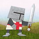 Brave Knight! by orangepeel