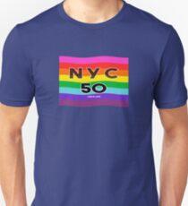 Homosexueller Stolz 2019 World Pride NYC Slim Fit T-Shirt