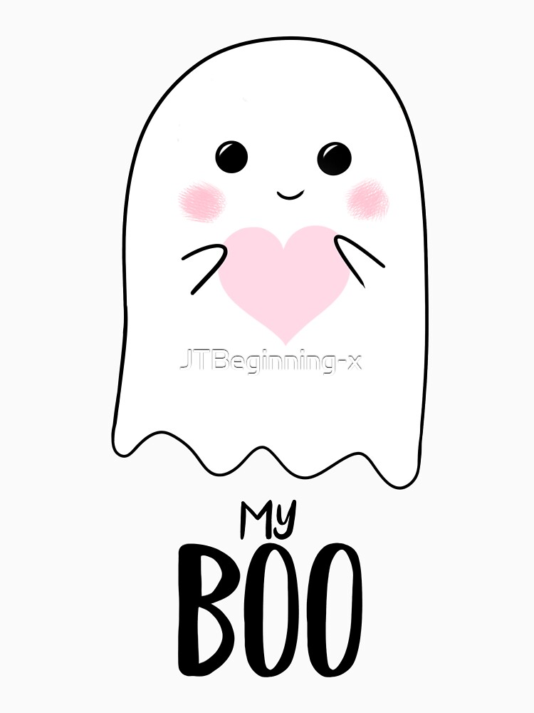 You're my BOO - Valentines Pun - Anniversary Pun - Birthday Pun - Ghost Pun - Love - adorable - Ghost - Halloween by JTBeginning-x