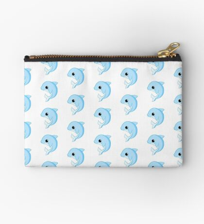 Dolphin Birthday - Have a FLIPPIN good birthday Zipper Pouch