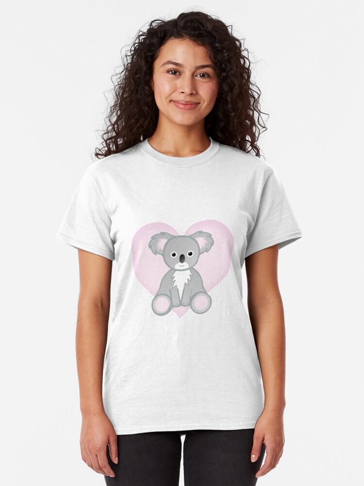 Alternate view of To a KOALITY Boyfriend - Koala - Valentine's Day Pun - Anniversary Pun - Animal Pun - Cute - Adorable - Birthday Pun - Australia Classic T-Shirt