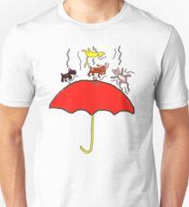 RAINING CATS AND DOGS  T SHIRT T-Shirt