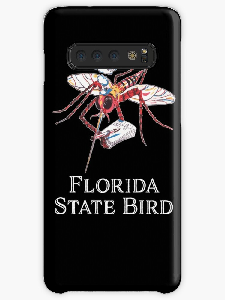 'Mosquito State Bird of Florida Funny Mozzy With Hit List Souvenir T-Shirt  ' Case/Skin for Samsung Galaxy by gallerytees