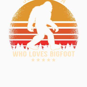 Bigfoot Lover Apparel by doggopupper